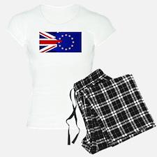 Union Jack and EU Blend Pajamas