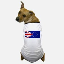 Union Jack and EU Blend Dog T-Shirt