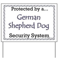 GSD Security Yard Sign
