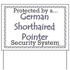 GSP Security Yard Sign