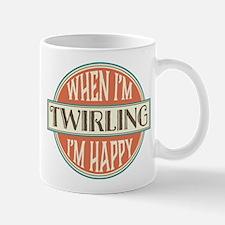 happy twirler Mug