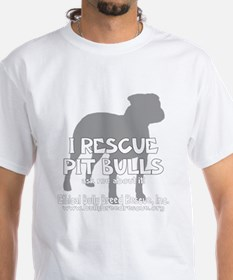 customethicalbullybreedrescue_black T-Shirt