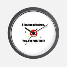 Lost Electron Wall Clock