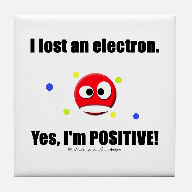 Lost Electron Tile Coaster