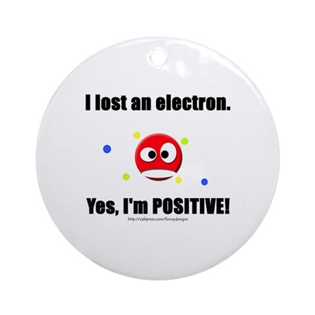 Lost Electron Ornament (Round)