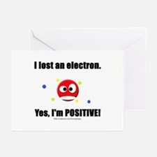 Lost Electron Greeting Cards (Pk of 10)