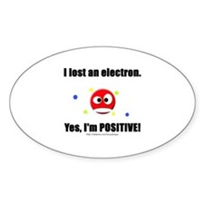 Lost Electron Oval Decal