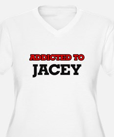 Addicted to Jacey Plus Size T-Shirt