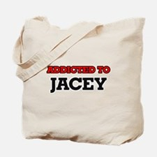 Addicted to Jacey Tote Bag