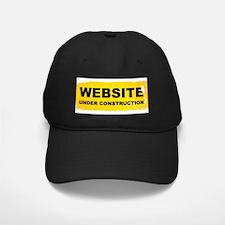 Website Under Construction Baseball Hat