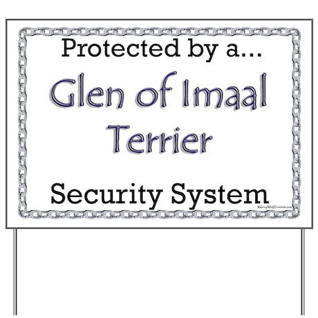 Imaal Security Yard Sign