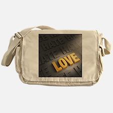 Cute Defeated Messenger Bag
