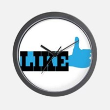 Like Web Icon Wall Clock
