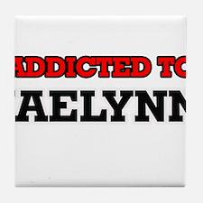 Addicted to Jaelynn Tile Coaster