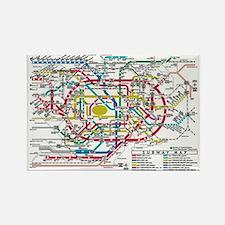 SUBWAY - METRO MAPS - TOKYO JAPAN! Magnets