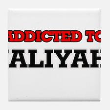 Addicted to Jaliyah Tile Coaster