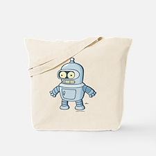 Futurama Baby Bender Light Tote Bag