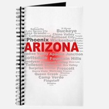 Arizona Word Cloud Heart Journal