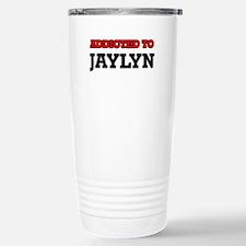 Addicted to Jaylyn Travel Mug