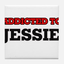 Addicted to Jessie Tile Coaster