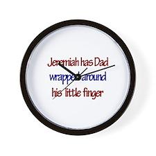 Jeremiah - Dad Wrapped Aroun Wall Clock