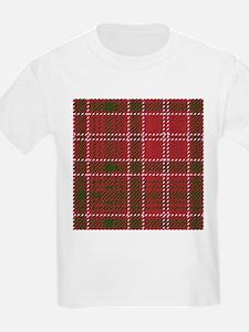 Red Kilt Tartan T-Shirt