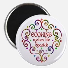 "Cooking Sparkles 2.25"" Magnet (100 pack)"