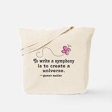 Mahler Symphony Tote Bag