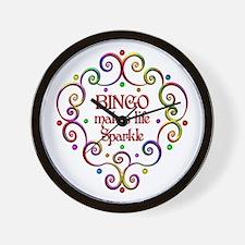 Bingo Sparkles Wall Clock