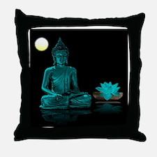 Cute Buddhist symbol Throw Pillow