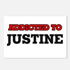 Addicted to Justine Postcards (Package of 8)