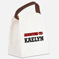 Addicted to Kaelyn Canvas Lunch Bag