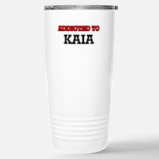 Addicted to Kaia Travel Mug