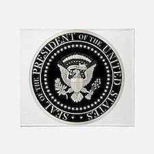 Presedent Seal Throw Blanket