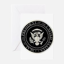 Presedent Seal Greeting Cards