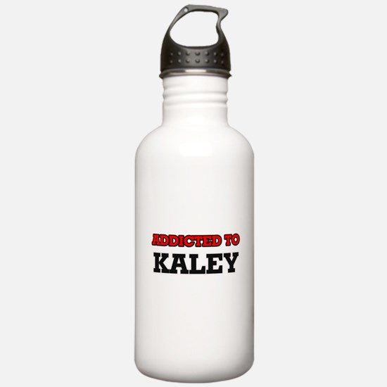 Addicted to Kaley Sports Water Bottle