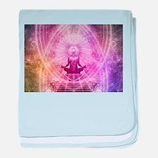 Yoga Meditation baby blanket