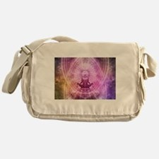 Yoga Meditation Messenger Bag