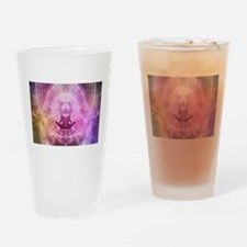Yoga Meditation Drinking Glass