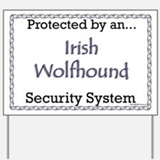 Wolfhound Security  Yard Sign