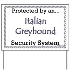 Iggy Security Yard Sign