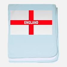 Flag of England baby blanket