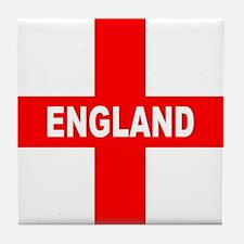 Flag of England Tile Coaster