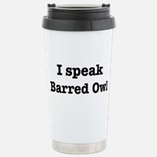Unique Speak Travel Mug