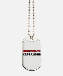 Addicted to Kassandra Dog Tags