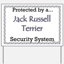 JRT Security Yard Sign