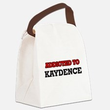 Addicted to Kaydence Canvas Lunch Bag