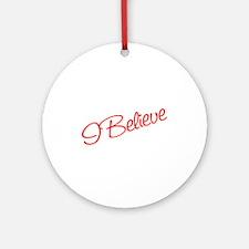 I believe Ornament (Round)