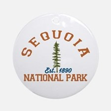 Sequoia National Park. Round Ornament
