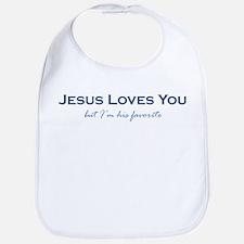 Jesus Loves You Bib